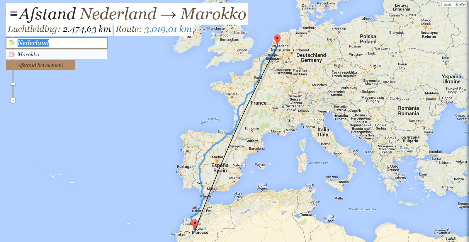 EMIGRATIE: WERKEN EN WONEN IN MAROKKO