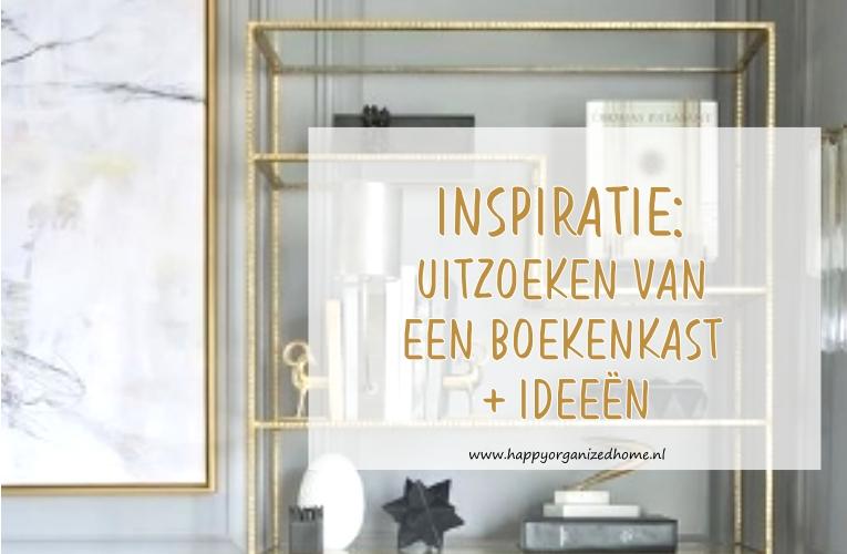 inspiratie uitzoeken van een boekenkast ideen