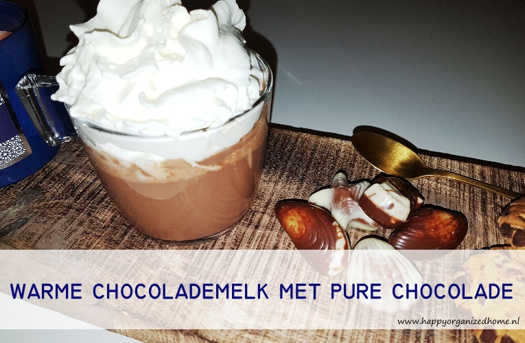 HOMEMADE WARME CHOCOLADEMELK