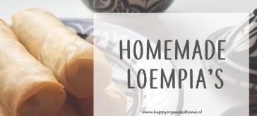 loempia, homemade, recept