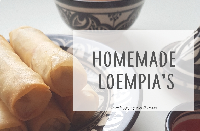 loempia, homemade, recept
