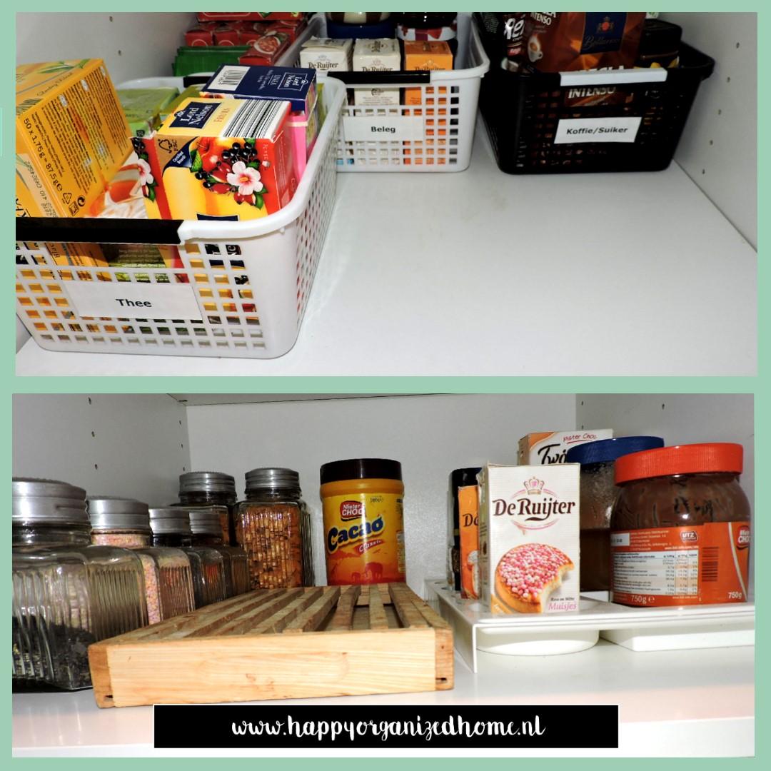AAN DE SLAG   IN JE VOORRAADKAST   Happy Organized Home