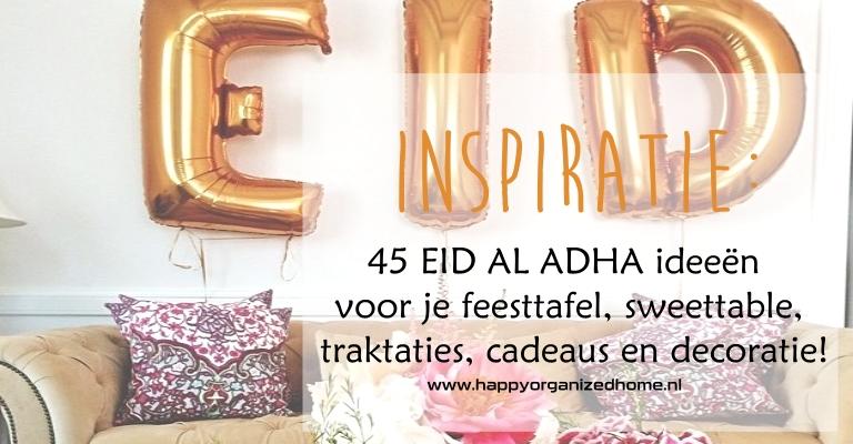 INSPIRATIE: 45 LEUKE IDEEËN VOOR EID AL ADHA
