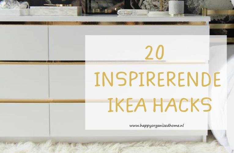 20 INSPIRERENDE IKEA HACKS!