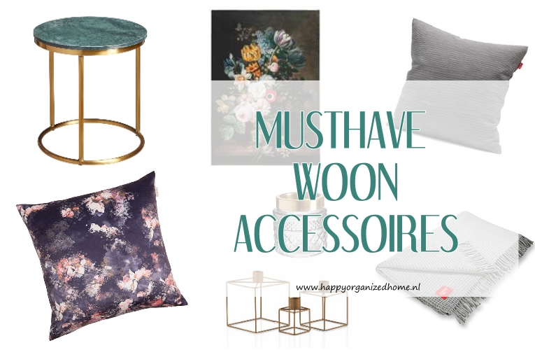 woonaccessoires, musthave